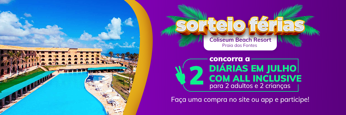Sorteio Coliseum Beach Resort