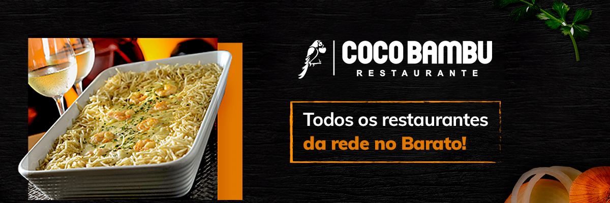 Coco Bambu no Barato