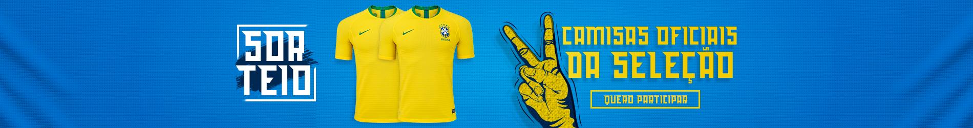 Sorteio Blusas do Brasil