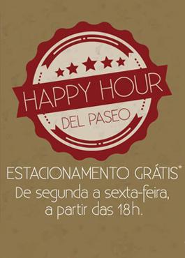 Happy Hour - Del Paseo
