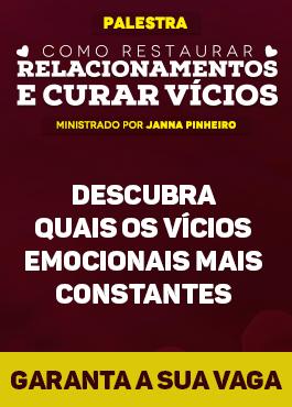 Palestra: Como restaurar relacionamentos 15/03