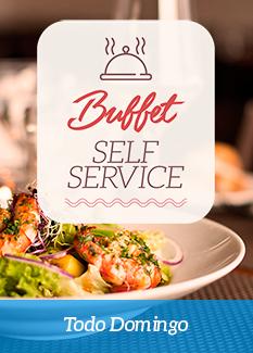 Buffet Self Service aos domingos