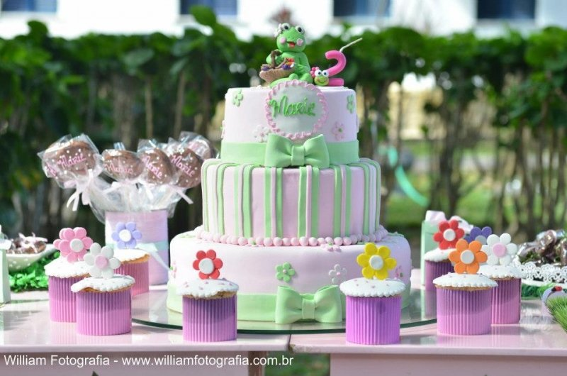 As melhores receitas e decorações! Bolo decorado com pasta americana + 30 Cupcakes por R$149,90 na Beth Bolos