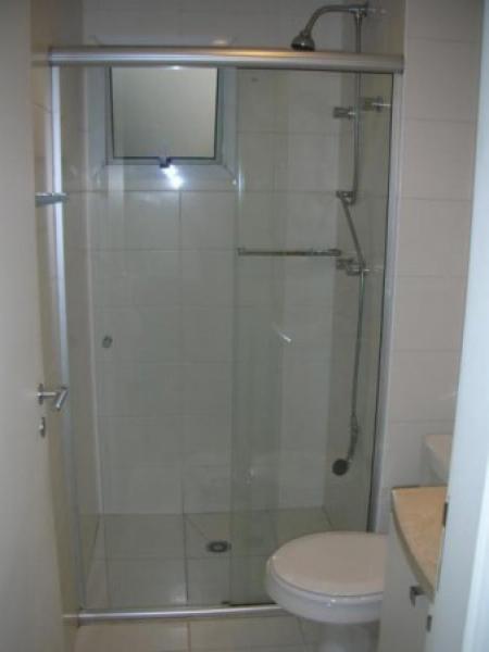 New Window  Box para Banheiro de vidro temperado incolor com modelo corrediç -> Box Para Banheiro Rio Pequeno