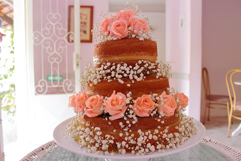 Josephine Patisserie - Naked Cake com 2 andares