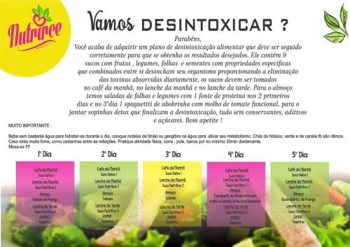 Como fazer dieta detox de 3 dias