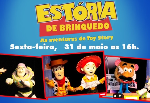 Ingresso para As Aventuras de Toy Story no Teatro Via Sul