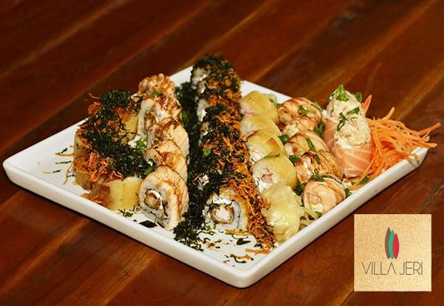 Combinado de 20 peças de sushi de R$38,90 por R$23,90.