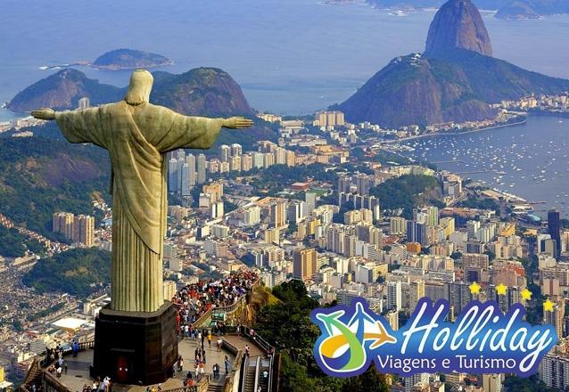 Passagem aérea (Ida e Volta) para o Rio de Janeiro + 2 Noites + café