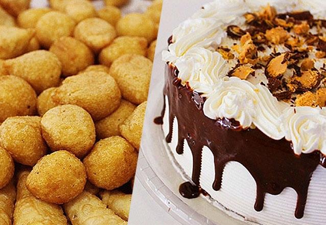 Dola Doces e Salgados - Torta Doce + Salgados + Mini