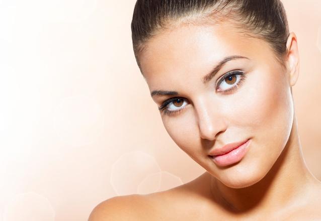 Higienização Facial + Peeling de Hortelã + Máscara + Protetor
