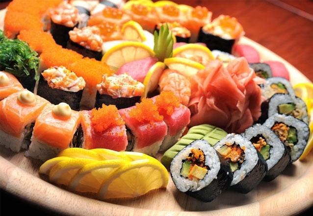 Combinado de 24 peças de sushi