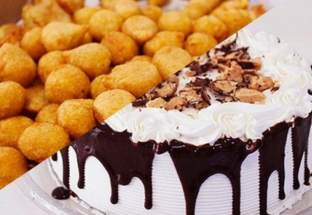 Torta doce + Salgados + Empadas + Mini Tortinhas Doces