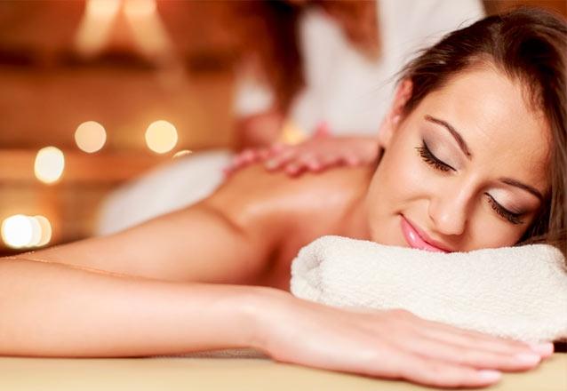 1 Sessão com 7 opções de Massagens