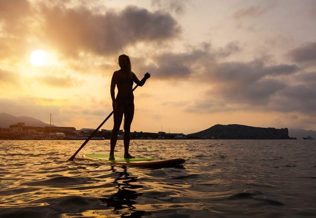 1 hora de Stand up Paddle
