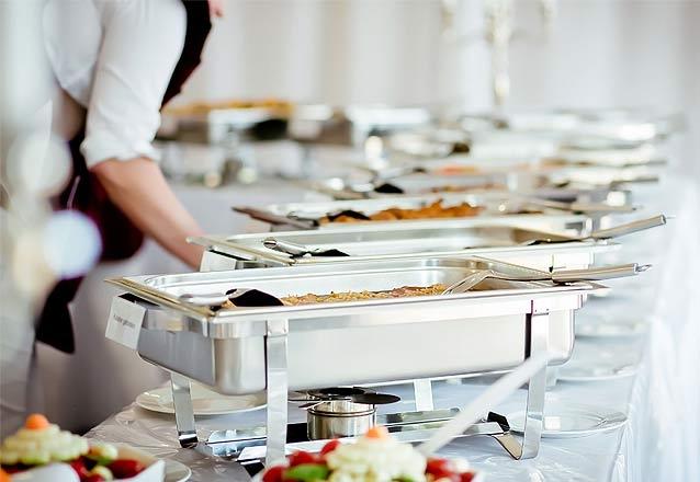 Pacote 1: Buffet completo para 60 pessoas