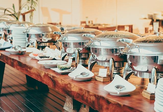 Buffet Especial para Confraternização de Empresa para 60 pessoas