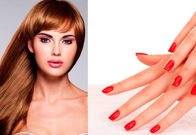 Escova Inteligente + Manicure e Pedicure + Designer de Sobrancelha