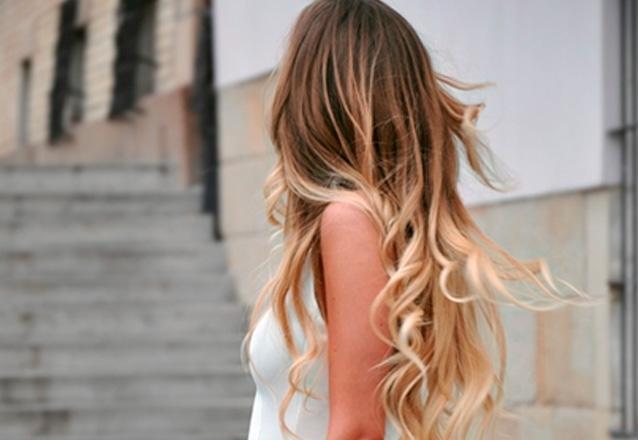 Ombre Hair OU Californianas OU Mechas na Touca + Tratamento