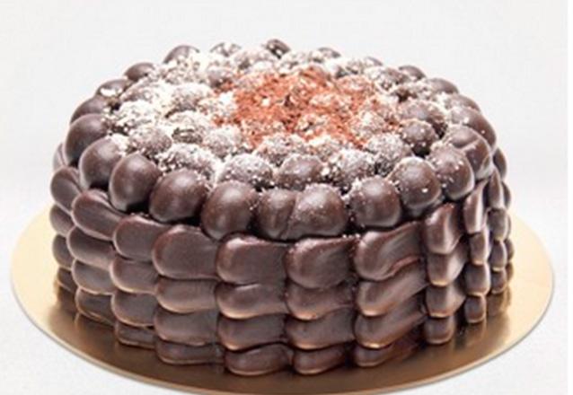 Torta Brownie que serve de 25 a 30 pessoas