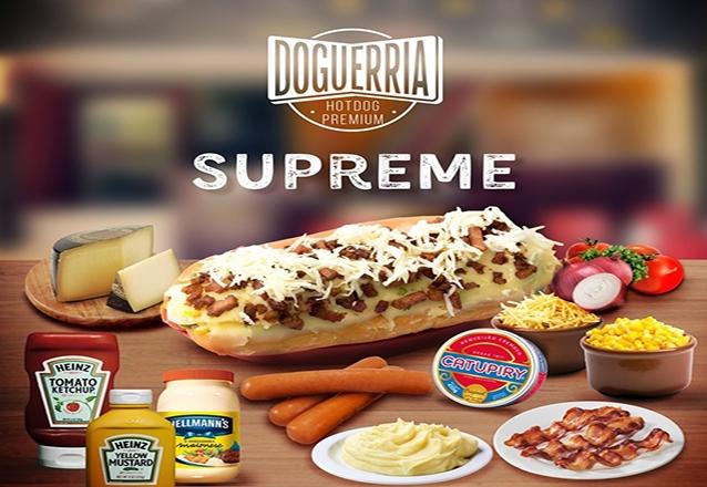 Hot Dog Supreme de R$20 por apenas R$14,90