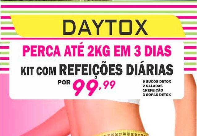 Kit com Sucos Detox, Refeição, Sopinhas Detox Funcionais e Saladas
