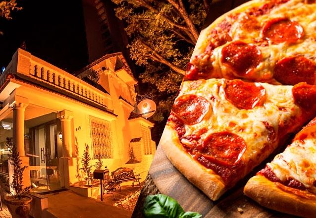 Pizza (Mozarela, Marguerita ou Calabresa)