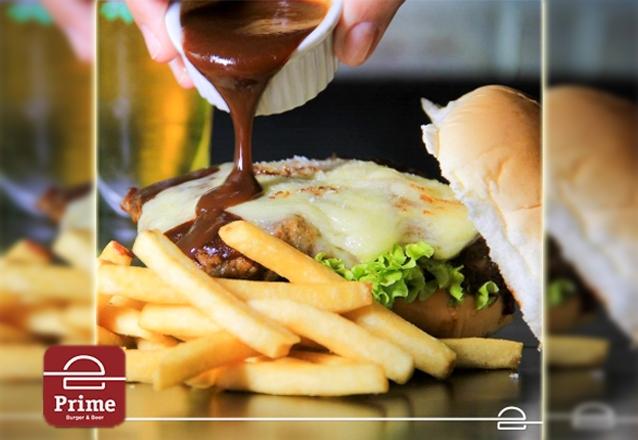 Burger da linha Burgers + 01 Batata Mini Classic Fries